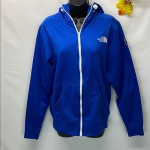 The north face zip up jacket size small